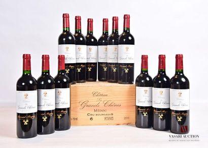 12 bouteillesChâteau LES GRANDS CHÊNESMédoc...