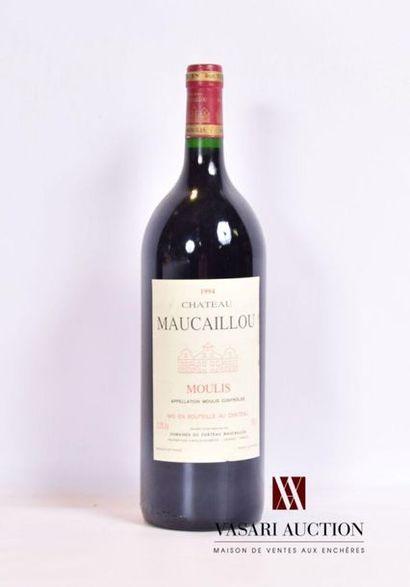 1 magnumChâteau MAUCAILLOUMoulis1994 Et....