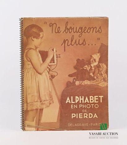 [JEUNESSE] PIERDA - Alphabet en photo - Paris...