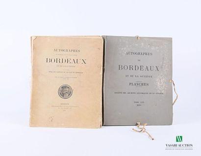 [REGIONALISME - BORDEAUX] Société des archives...