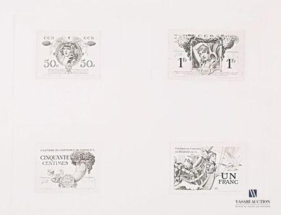 ROGANEAU François-Maurice (1883-1973) (dessinateur)...
