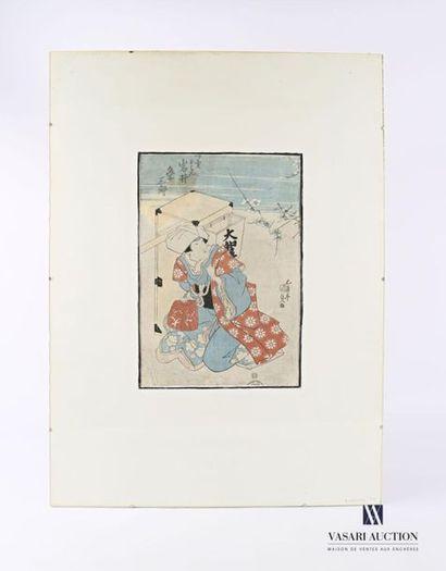 KUNISADA Utagawa (1786-1860), d'après Jeune...