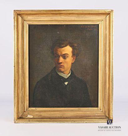 FRAPPA José (1854-1904) Portrait de jeune...