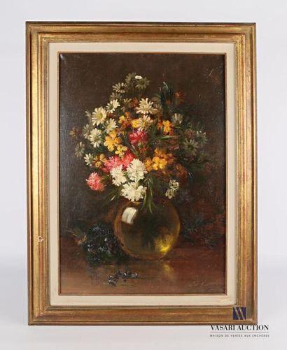 CARME Felix (1863-1938) Bouquet de fleurs...