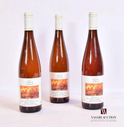 3 bouteillesMUSCAT OTTONEL Nagyréde Ausbruch...