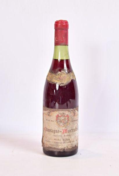1 bouteilleCHASSAGNE MONTRACHET mise Michel...