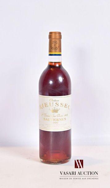 1 bouteilleChâteau RIEUSSECSauternes 1er...