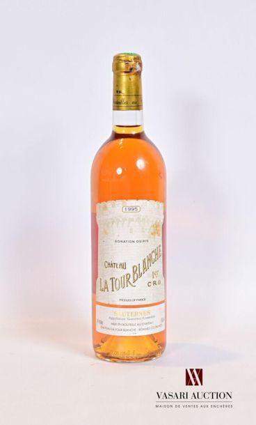 1 bouteilleChâteau LA TOUR BLANCHESauternes...
