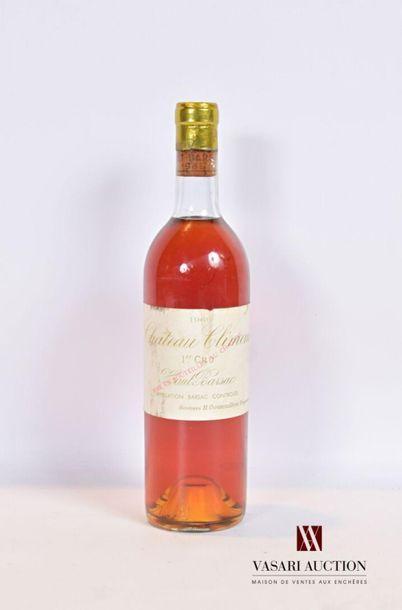 1 bouteilleChâteau CLIMENSSauternes 1er...