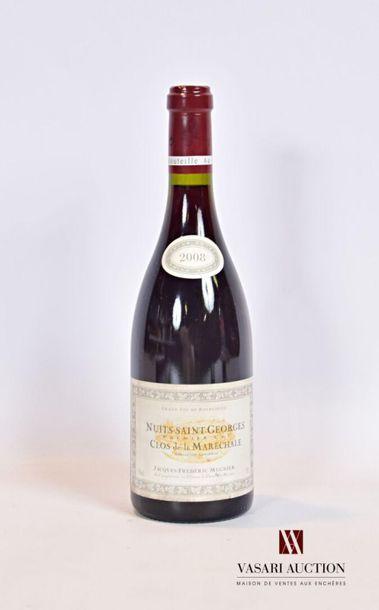 1 bouteilleNUITS SAINT GEORGES 1er Cru