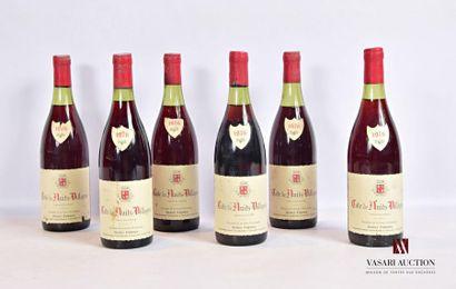 6 bouteillesCÔTE DE NUITS VILLAGES mise...