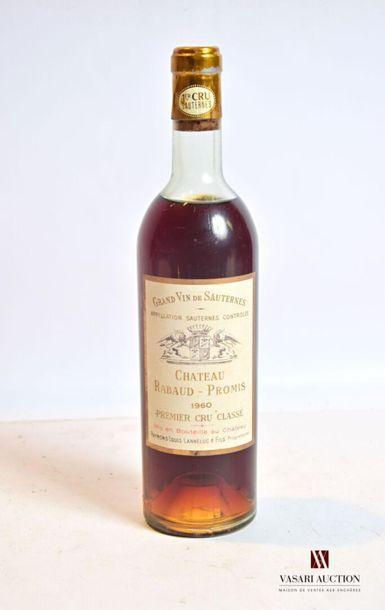 1 bouteilleChâteau RABAUD PROMISSauternes...