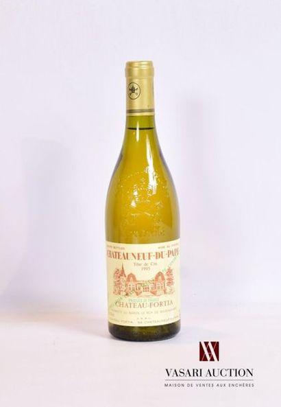1 bouteilleCHATEAUNEUF DU PAPE Blanc Tête...