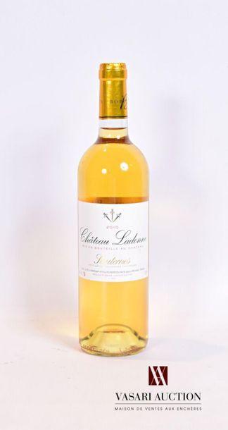 1 bouteilleChâteau LADONNESauternes2010...