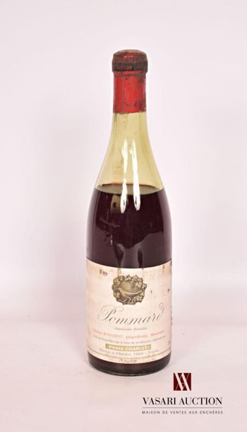 1 bouteillePOMMARD mise Pierre CharletMill?...