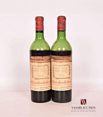 2 bouteillesChâteau BALESTARD LA TONNELLESt...