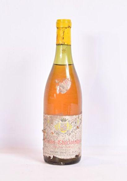1 bouteilleCORTON CHARLEMAGNE mise Rapet...