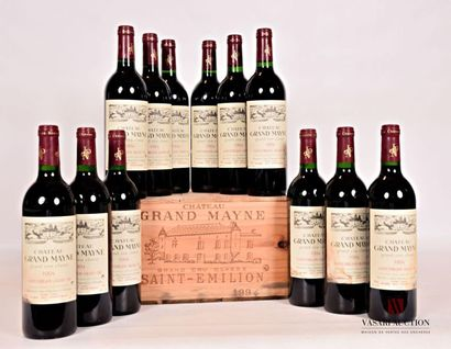 12 bouteillesChâteau GRAND MAYNESt Emilion...