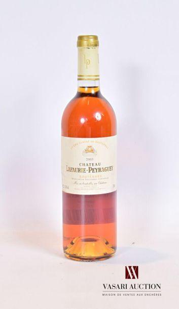1 bouteilleChâteau LAFAURIE PEYRAGUEYSauternes...