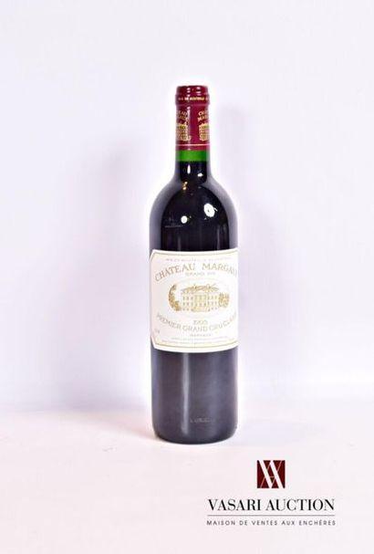 1 bouteilleChâteau MARGAUXMargaux 1er GCC1995...