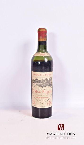 1 bouteilleChâteau CALON SÉGURSt Estèphe...
