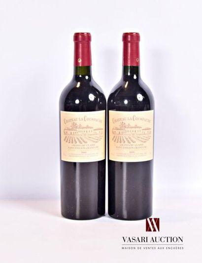 2 bouteillesChâteau LA COUSPAUDESt Emilion...