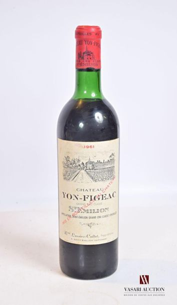 1 bouteilleChâteau YON FIGEACSt Emilion...