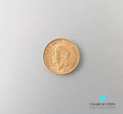 Souverain en or, Georges V, 1929  Poids :...