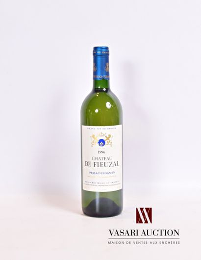 1 bouteilleChâteau DE FIEUZALGraves blanc1996...