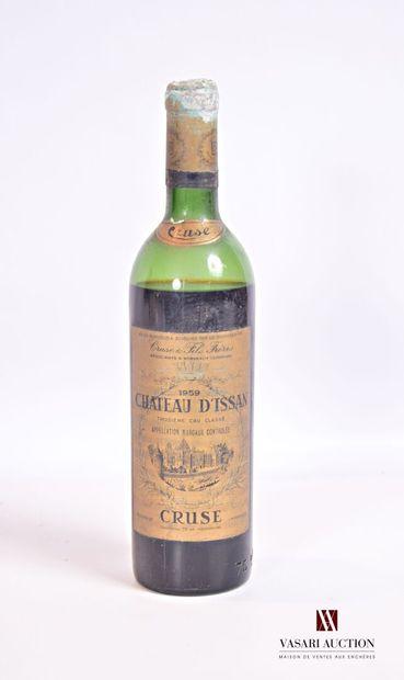 1 bouteilleChâteau d'ISSANMargaux GCC1959...