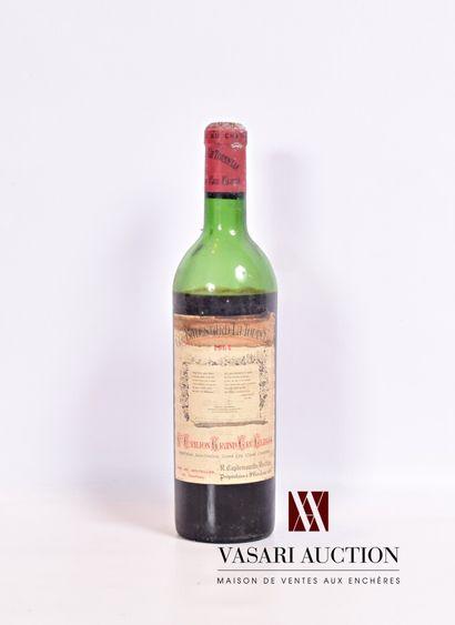 1 bouteille Château BALESTARD LA TONNELLESt...