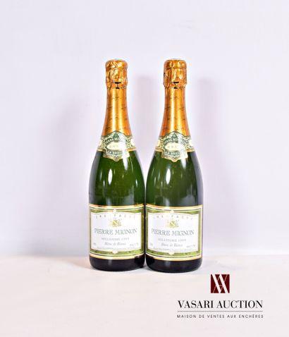 2 bouteillesChampagne PIERRE MIGNON Brut...