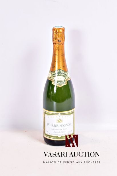 1 bouteilleChampagne PIERRE MIGNON Brut...