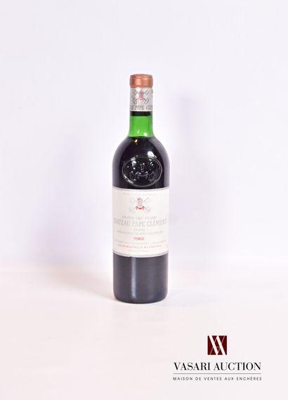 1 bouteilleChâteau PAPE CLÉMENTGraves GCC1982...