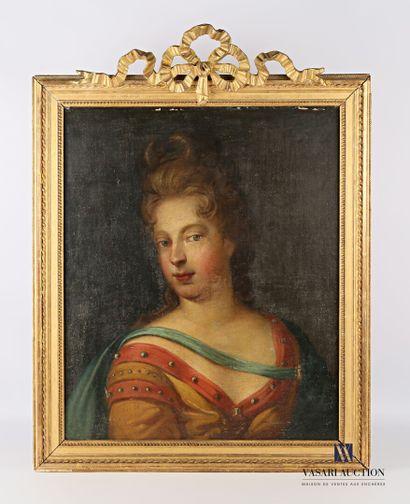 Ecole française du XVIIIème siècle  Portait...