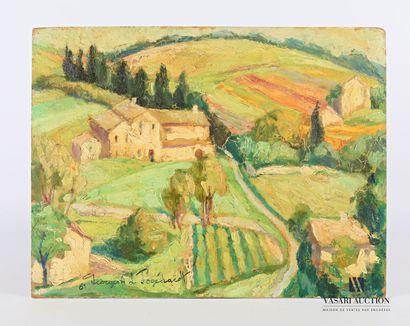 DE POGEDAIEFF Georges A. (1897-1971)  Vue...
