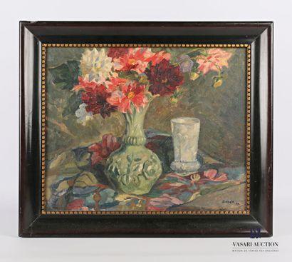 BAYER Albert (1885-1963)  Bouquet de fleurs...