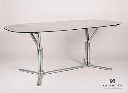 Table de salle à manger, le plateau de forme...