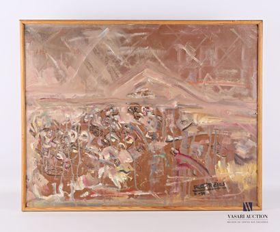 REJAS Pablo (XXème siècle)  Le Mur des Lamentations...