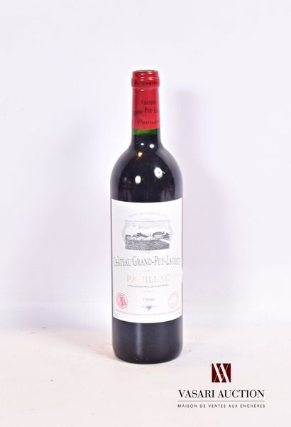 1 bouteilleChâteau GRAND PUY LACOSTEPauillac...
