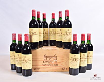 12 bouteillesChâteau LÉOVILLE POYFERRÉSt...