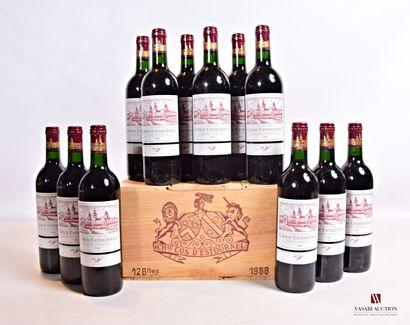 12 bouteillesChâteau COS D'ESTOURNELSt...