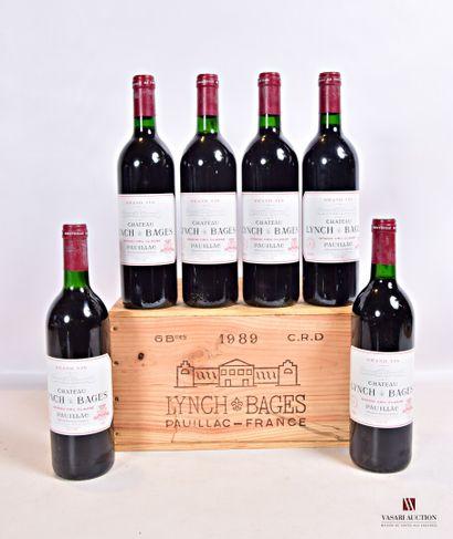 6 bouteillesChâteau LYNCH BAGESPauillac...