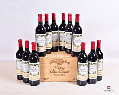 12 bouteillesChâteau RAUZAN GASSIESMargaux...