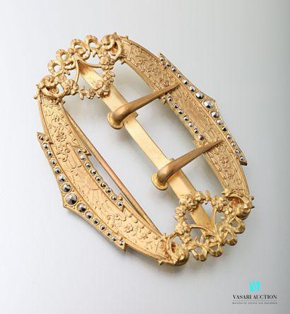 Boucle de ceinture ovale de la fin du XIXème...