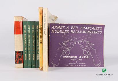 [ARMES A FEU]  Lot comprenant huit ouvrages...