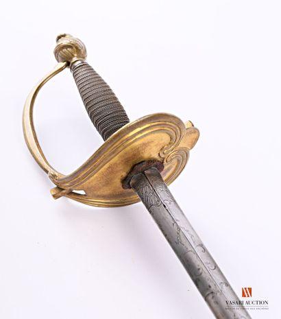 Épée d'uniforme pour officier, garde à une...