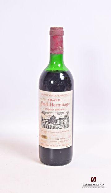 1 bouteilleChâteau VIEIL HERMITAGEBordeaux...