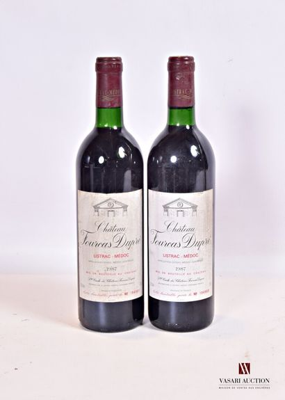 2 bouteillesChâteau FOURCAS DUPRÉListrac...