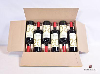 6 bouteillesLES GENTILLÈRES Cuvée Louxor...